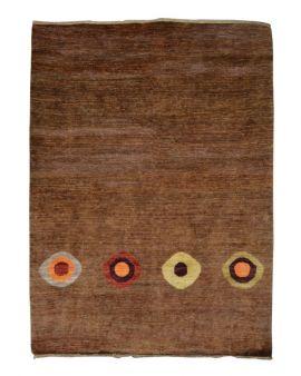 Alfombra oriental CHOBI GABBEH 084902 en color marrón