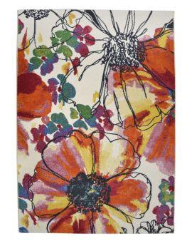 Infinity 32041 6379 alfombra floral abstracta