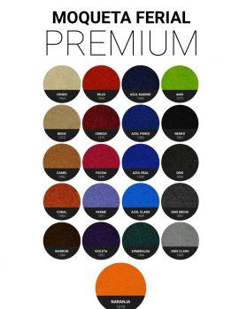 Moqueta ferial Premium
