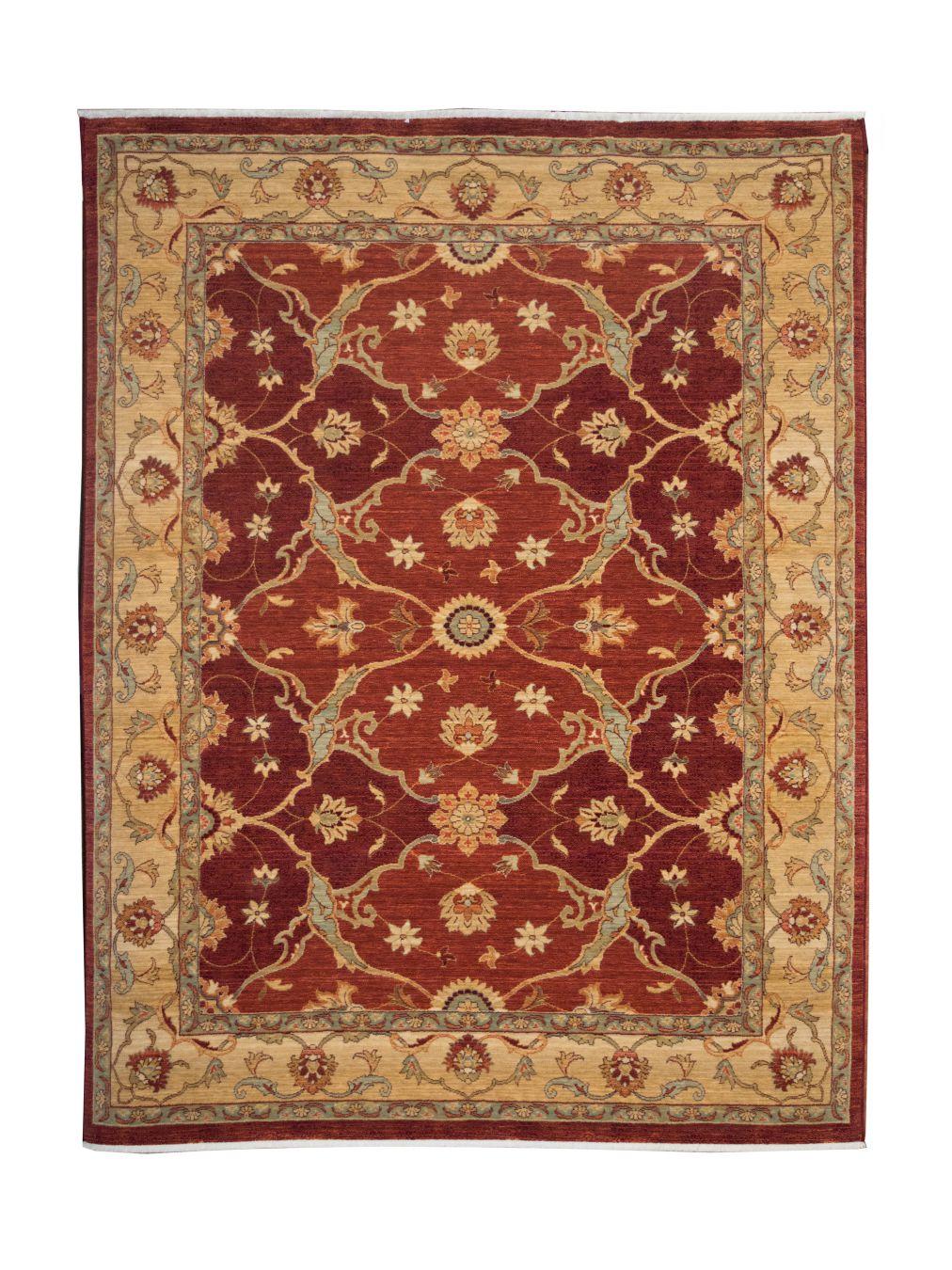 Alfombra de crevillente de lana kirman 60076 alfombras nelo - Alfombras en crevillente ...