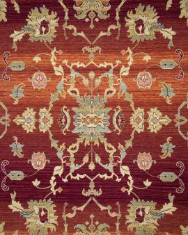 alfombra de lana kirman fs r2 detalle