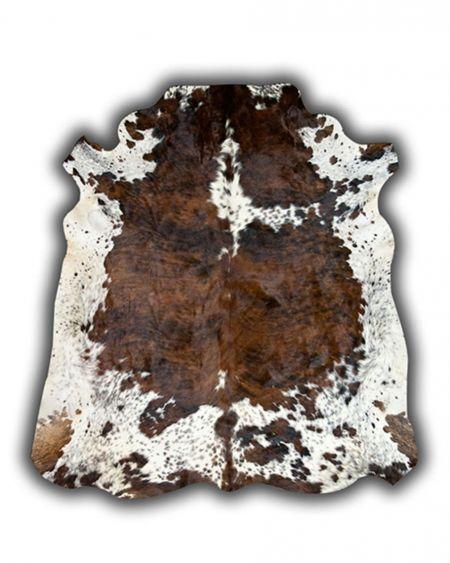 Alfombra de piel natural de toro normando G1