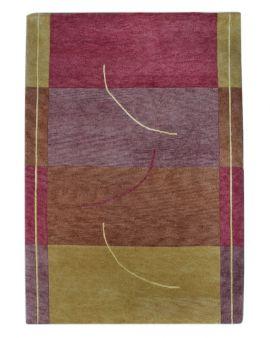 Abrash 01 terra alfombra oriental