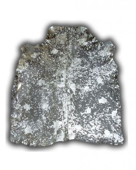 Alfombra de piel de toro normando tintada ácido