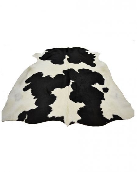 Alfombra de piel natural de toro normando G4