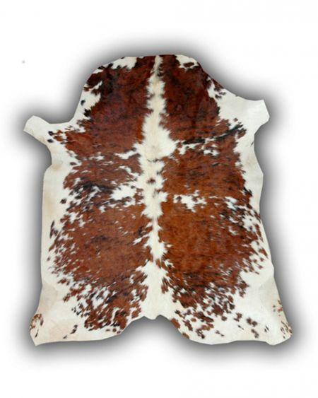 Alfombra de piel natural de toro normando p2