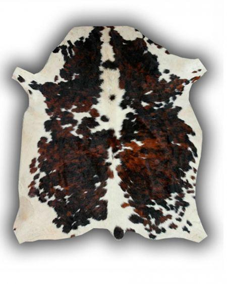 Alfombra de piel natural de toro normando P3