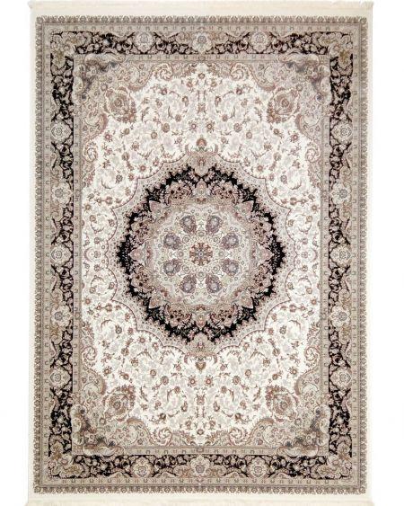 alfombra clásica unique is081d blanca