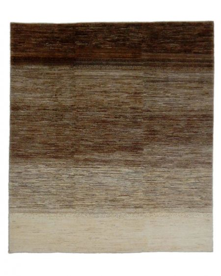 Alfombra oriental persa GABBEH SHEKARLOU 240x210 en tonos marrones