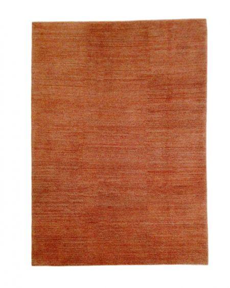 Alfombra oriental persa GABBEH SHEKARLOU 290x208 en color rojo caldera