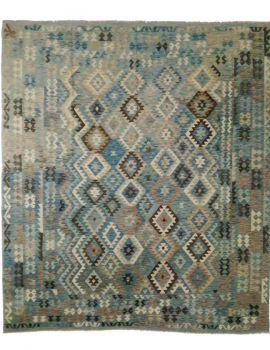 Kilim maymana 290x255 blue-c