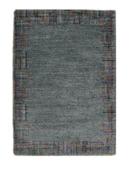 Mehari 23152 4141 alfombra lisa con cenefa