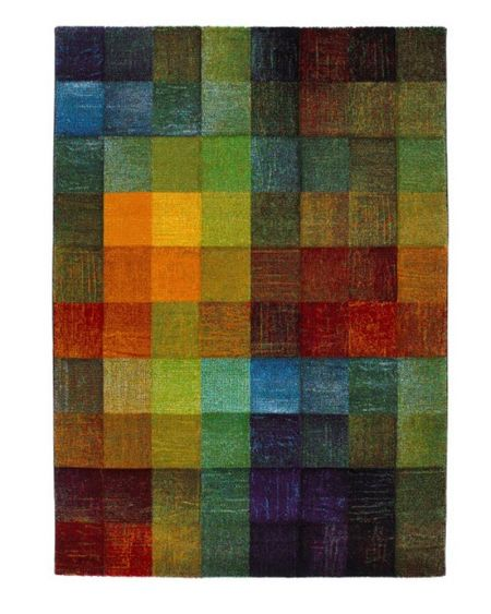Alfombra moderna multicolor BELIS 21473-21
