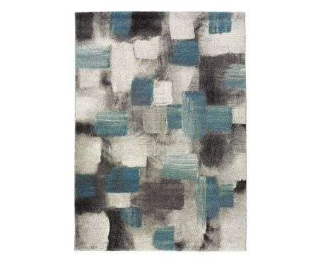 Alfombra moderna de diseño abstracto Bianca 21529 07