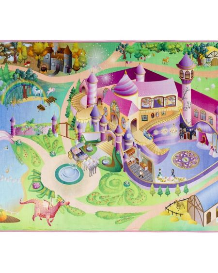 Alfombra infantil GAME castillo