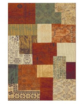 Alfombra diseño patchwork LEGEND 138 02