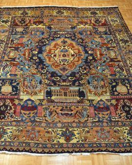 Alfombra clásica persa MASHHAD 291x372