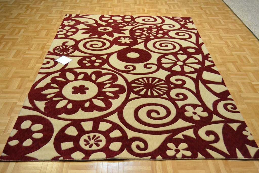 Alfombra moderna de lana lolita 01 alfombras nelo - Alfombras lana modernas ...