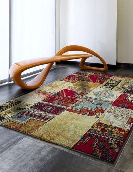 TENERÉ 21826 21 alfombra patchwork