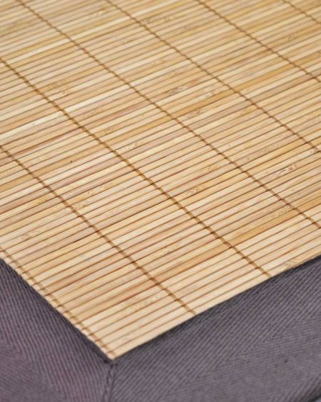 Alfombras de tablillas de bambú