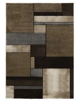 MALMO 21821 Brown alfombra moderna