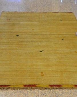 Gabbeh alfombra oriental 144x200
