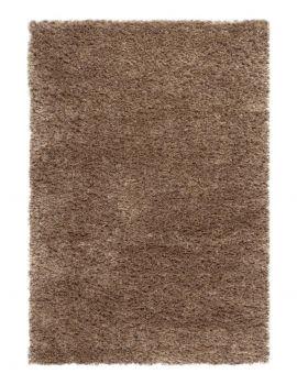 Alfombra de pelo largo marrón HIMALAYA 2501 607