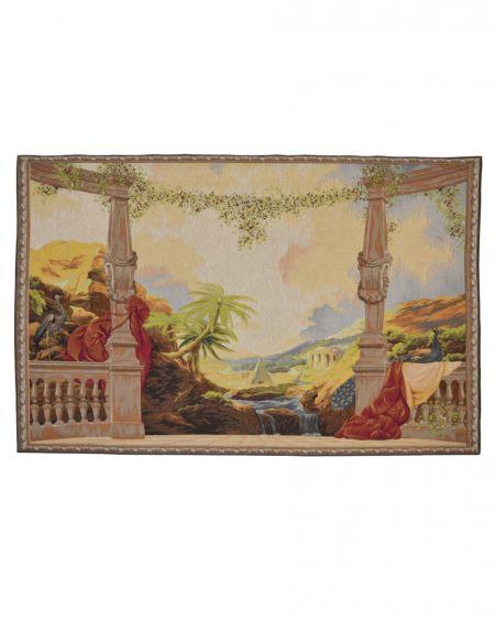 Tapiz de pared ´Desde el palacio` (s. XIX)