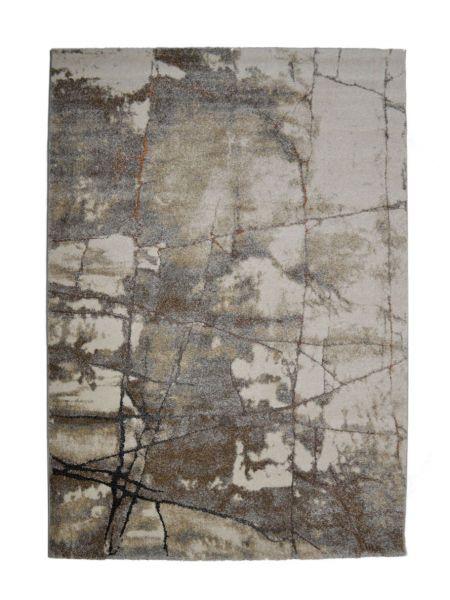 Alfombra moderna gris piedra KAEL 20850