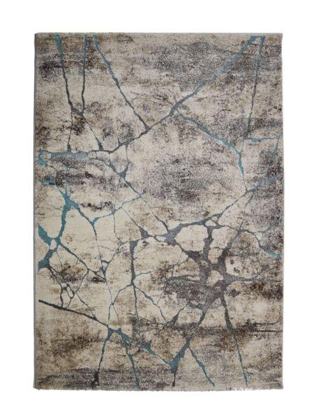 Alfombra moderna gris piedra KAEL 20873