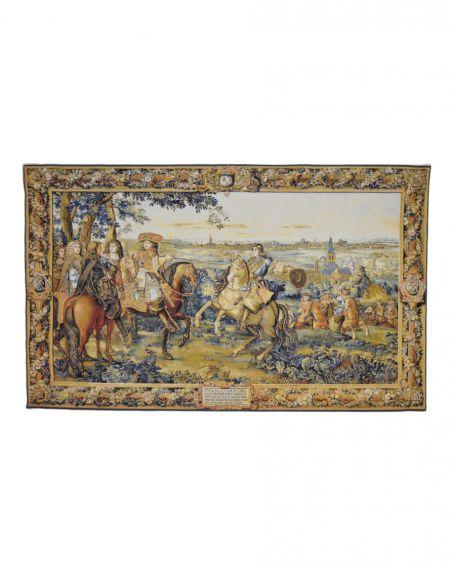 Tapiz de pared clásico LUIS XIV EN LILLE - siglo XVII