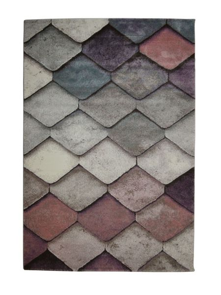 Alfombra moderna tonos pastel MUBIS 21944