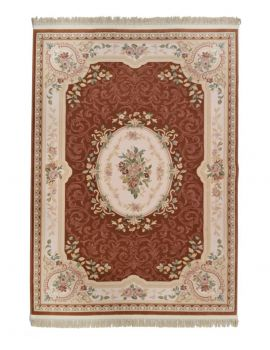 versalles 801 salmon alfombra clasica