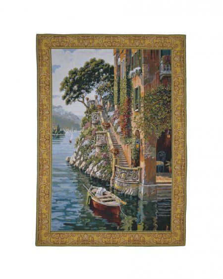 Tapiz de pared clásico VILLA (lago Como)