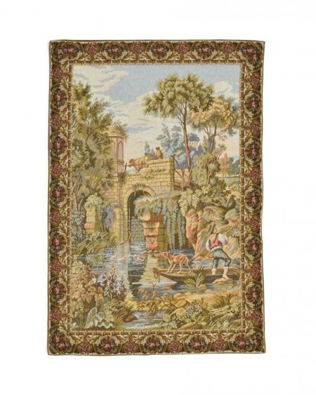Tapiz de pared ´Bajo el puente` (s. XVII)
