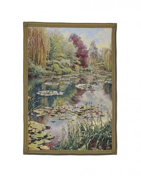 Tapiz de pared ´Monet's garden`