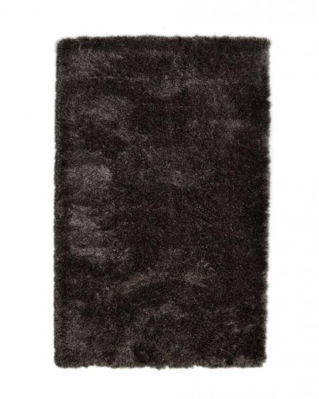 Alfombra de pelo largo negra HIMALAYA 2501 905