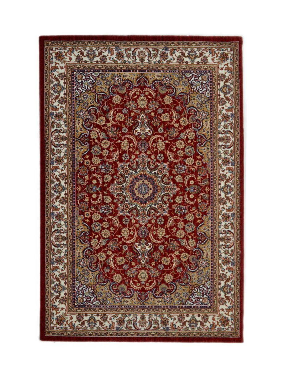 Alfombra cl sica de crevillente ronda 1001 roja alfombras nelo - Alfombras crevillente ...
