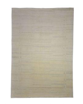 Alfombra manual Cartes Wool Natural 173x237