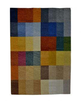 Alfombra manual de lana GOA multicolor 170x230