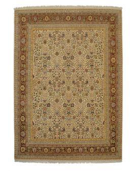 Alfombra manual clásica de lana IVORY 295x239