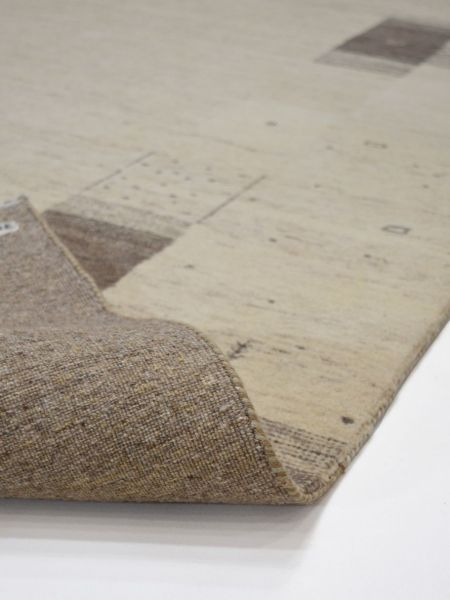 Loribaft Eterna alfombra manual vista de reverso