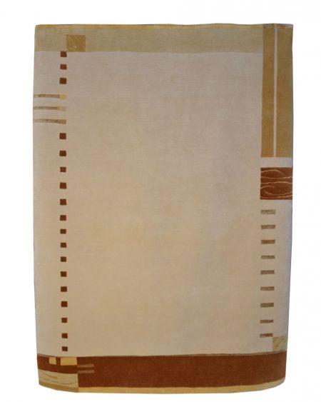 Alfombra manual de lana Nepal 173x241