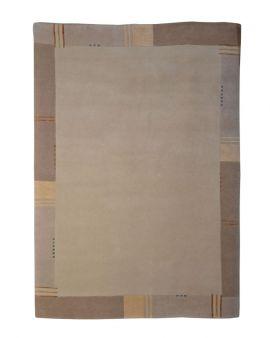 Alfombra manual de lana Rana 172x238