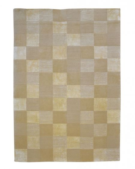 Alfombra manual de lana AVALON BEIGE 170X240