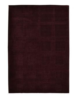 Alfombra manual de lana DYNAMIC CUADROS 170X240