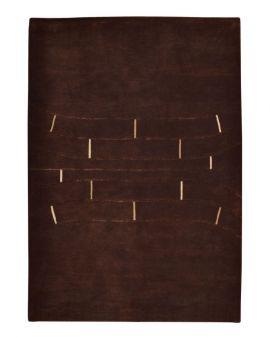 Alfombra manual de lana F.S. IN LINE 170X240