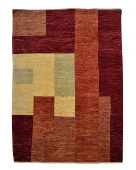 Alfombra manual GABBEH 176X245 color terracota