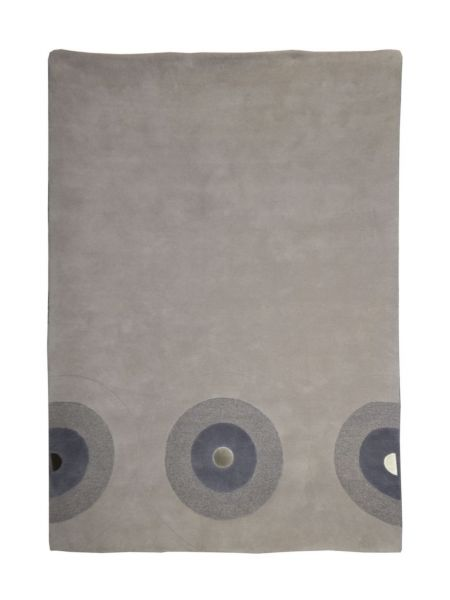 Alfombra manual de lana TECNO EDITION GRIS 160X230