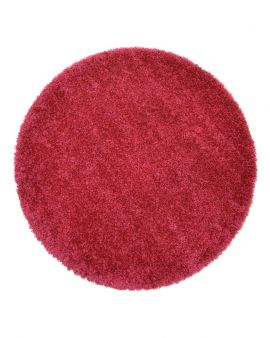 Alfombra redonda Twilight 1122 Cranberry Pink